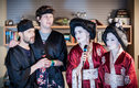 Na wizytę gości z Japonii cała rodzina Polaków musiała być odpowiednio przygotowana