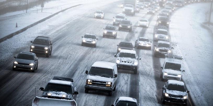 Żaśnieżone drogi w stanie Oklahoma /YouTube