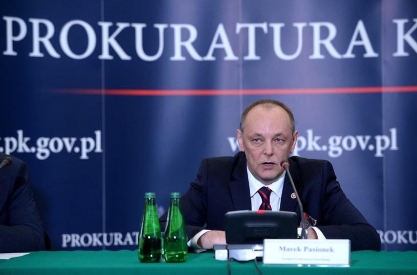 Zastępca prokuratora generalnego Marek Pasionek /Jacek Turczyk /PAP