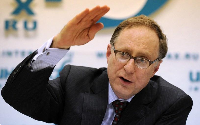 Zastępca sekretarza generalnego NATO Alexander Vershbow. /AFP