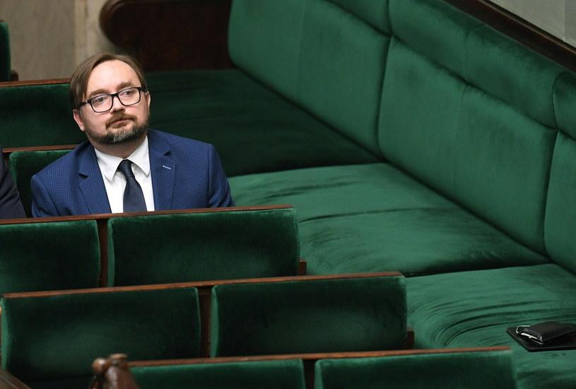 Zastępca szefa Kancelarii Prezesa Rady Ministrów Paweł Szrot /Radek Pietruszka /PAP