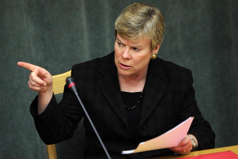 Zastępczyni sekretarza generalnego NATO Rose Gottemoeller /Kirill Kudryavtsev /AFP