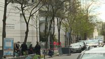 Zastrzelono mężczyznę w Paryżu. Francuska policja zabezpiecza teren przed szpitalem