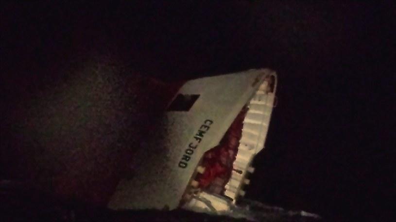 Zatonął statek z polską załogą /PAP/EPA