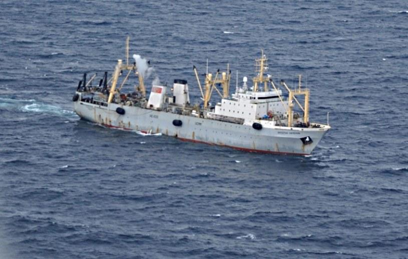 Zatonął trawler /PAP/EPA