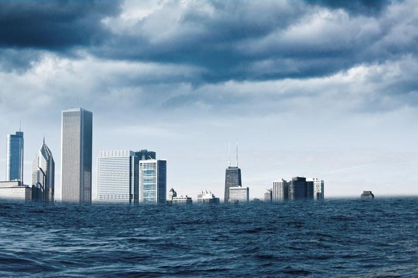 Zatopieniem zagrożone są wielkie ośrodki miejskie /123RF/PICSEL