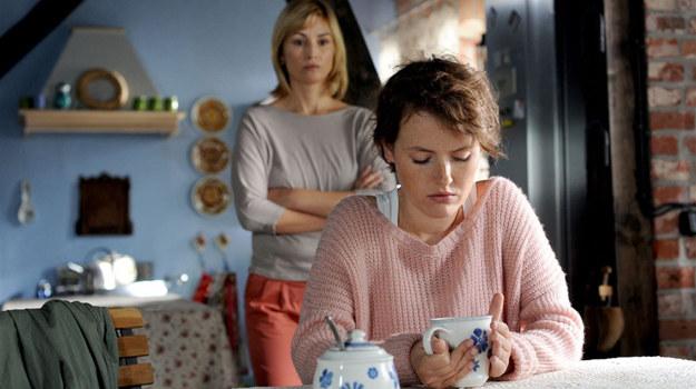 Zatroskana Marysia zawsze może liczyć na wsparcie ze strony matki /  /Agencja W. Impact