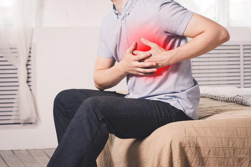 Zatrucie jodem może objawiać się arytmią serca /123RF/PICSEL