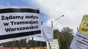 """""""Zatrzymać tramwaj"""". Pikieta w Warszawie"""