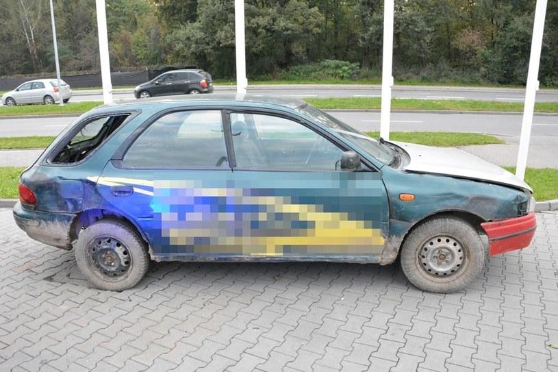 Zatrzymane Subaru Impreza /Policja