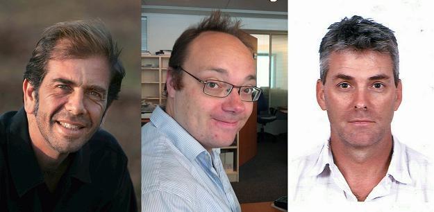 Zatrzymani dziennikarze: Roberto Schmidt, Dave Clark i Joe Raedle /AFP