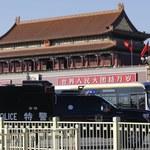 """Zatrzymania po """"ataku terrorystycznym"""" na Tiananmen"""