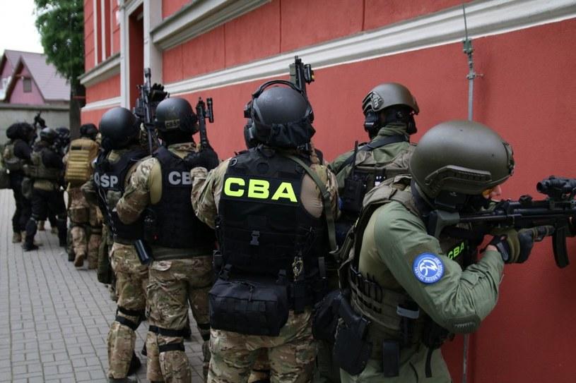 Zatrzymania przeprowadzili agenci CBA. Zdjęcie ilustracyjne. /cba.gov.pl /