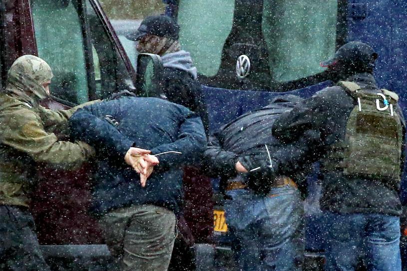 Zatrzymania w Mińsku, 29 listopada 2020 /STRINGER/AFP /AFP