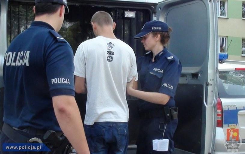 Zatrzymanie 25-latka /Policja