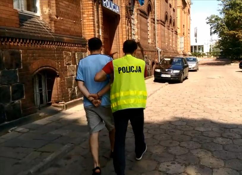 Zatrzymanie 32-letniego pedofila /Policja