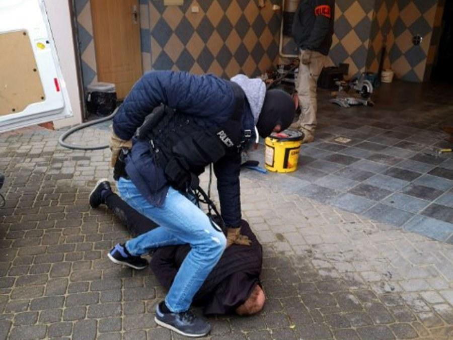 Zatrzymanie członków grupy przestępczej /Policja