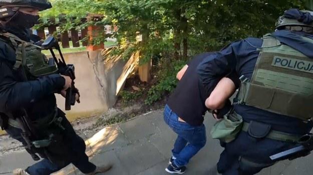 Zatrzymanie mężczyzny /Policja