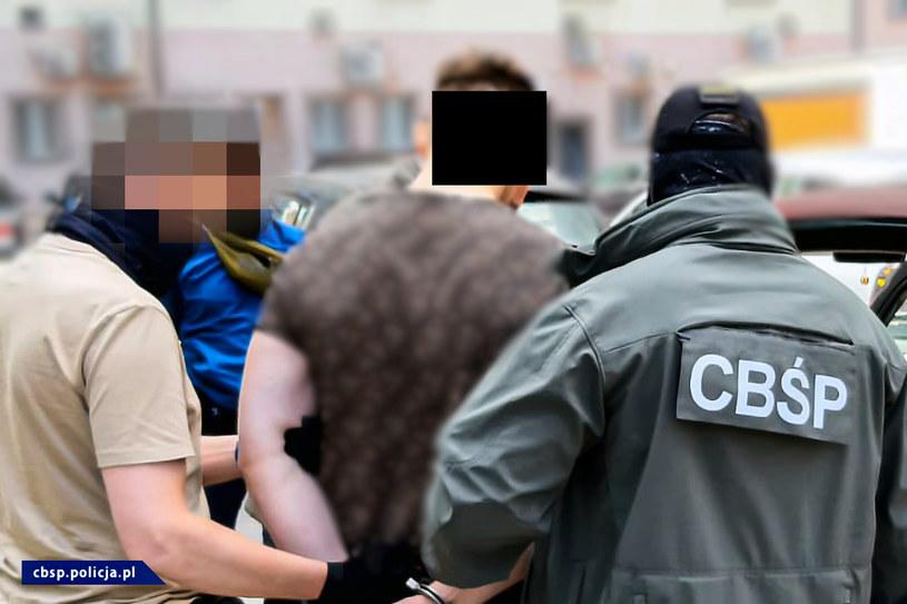 Zatrzymanie podejrzanego 23-latka /Policja