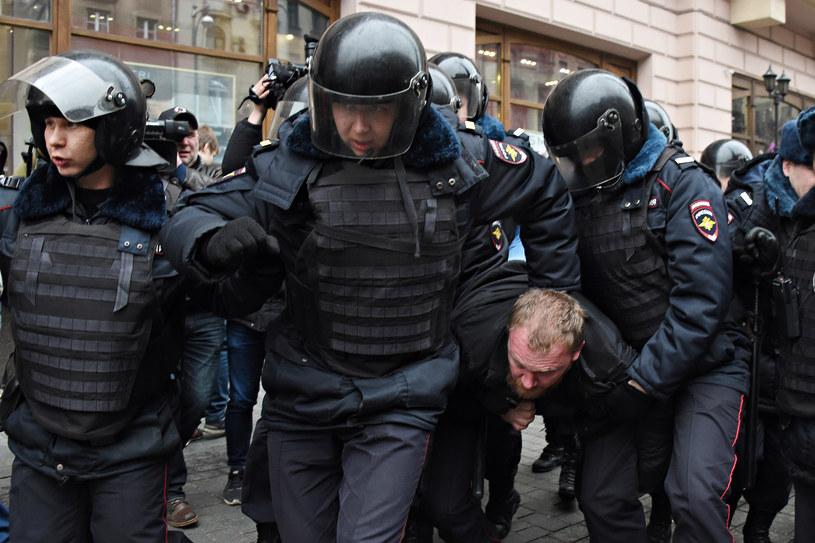 Zatrzymano 40 osób - informuje policja /AFP
