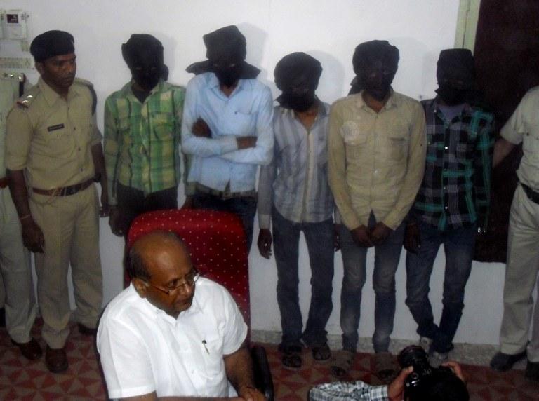 Zatrzymano 6 podejrzanych /AFP