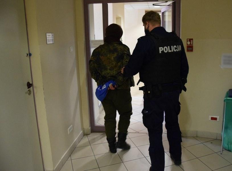 Zatrzymano pięć osób /Małopolska Policja /