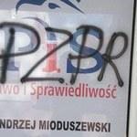 Zatrzymano sprawczynię ataku na biuro parlamentarzystów PiS w Wąbrzeźnie