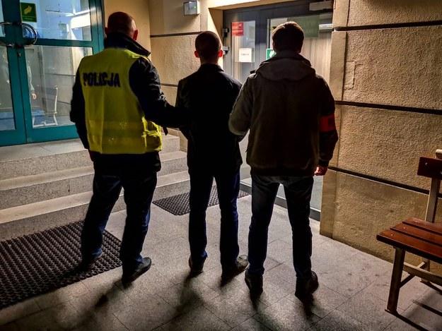 Zatrzymany 21-latek /policja.pl /Policja
