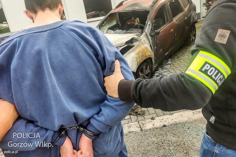 Zatrzymany 23-latek (Źródło: Policja Gorzów Wielkopolski) /Policja
