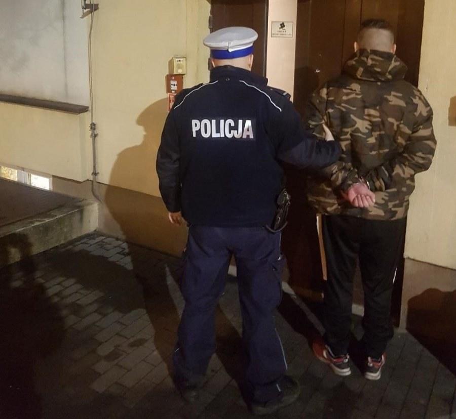 Zatrzymany 30-latek miał przy sobie ponad 17 gramów narkotyków /KMP Łódź /Policja