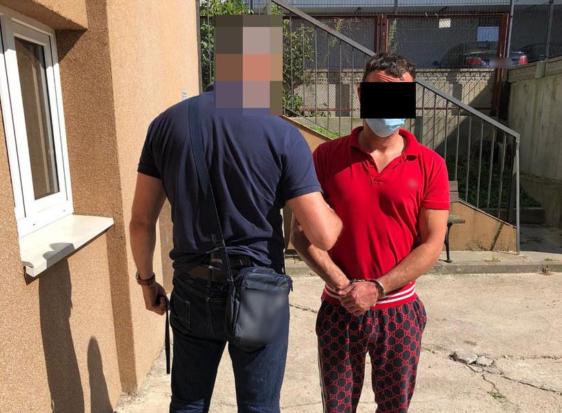 Zatrzymany 41-latek /Policja