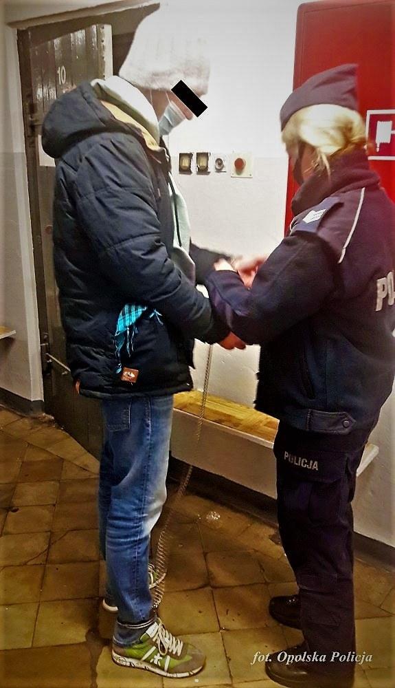 Zatrzymany 44-latek /Opolska Policja /Policja