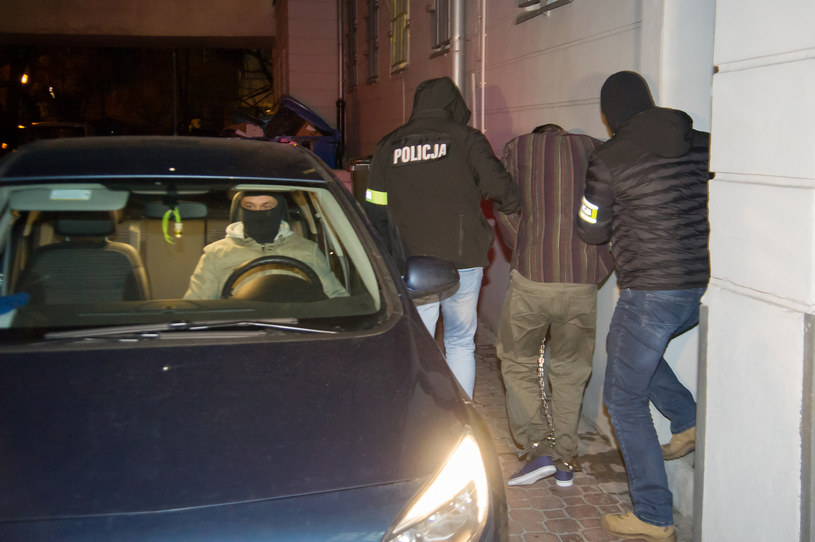 Zatrzymany nożownik w prokuraturze gdańskiej; zdj. archiwalne /Wojciech Stóżyk /East News