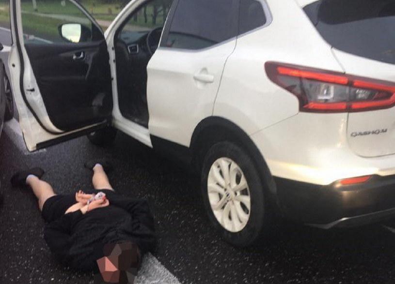 Zatrzymany złodziej i odzyskany samochód /Policja