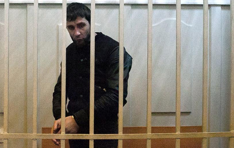 Zaur Dadajew, aresztowany pod zarzutem zabójstwa Niemcowa /AFP