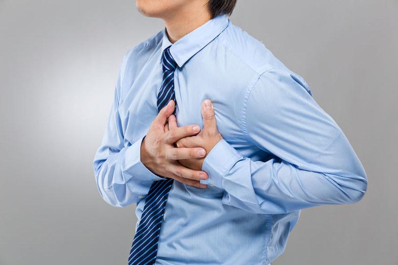 Zawał serca można przewidzieć /123RF/PICSEL