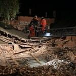 Zawalił się 100-letni budynek. Poszukiwana 15-latka