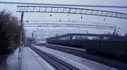 Zawalił się most na trasie kolei transsyberyjskiej. Jedna osoba ranna