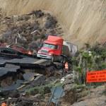 Zawaliła się autostrada. Naprawa może potrwać rok