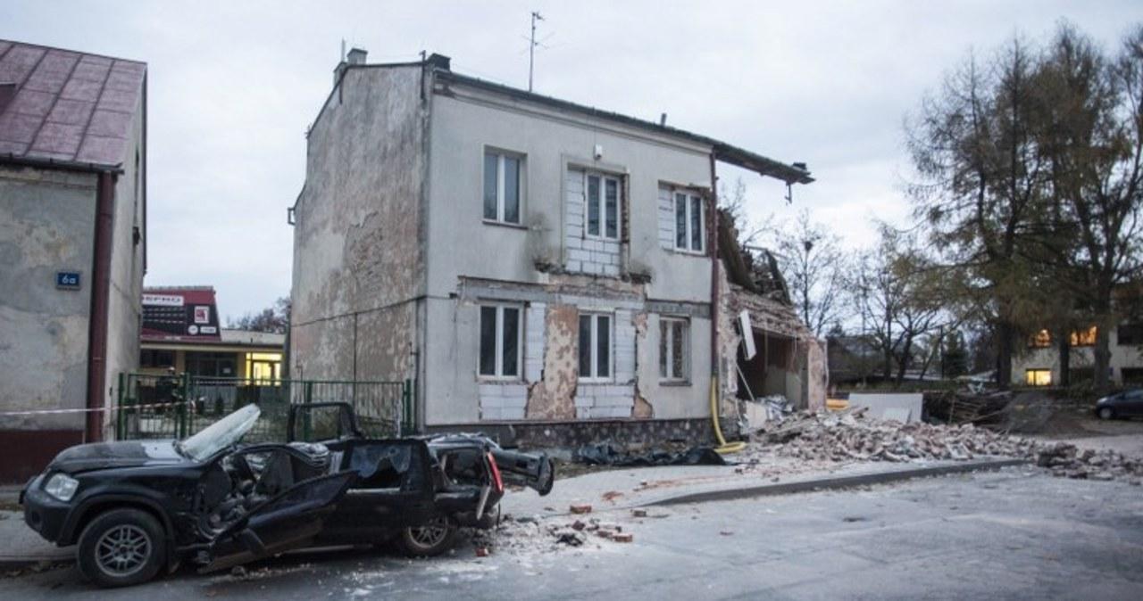 Zawaliła się kamienica w Kielcach