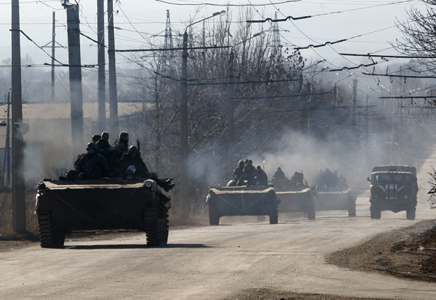 Zawieszenie broni tylko na papierze fot. Anatolii Stepanov /AFP