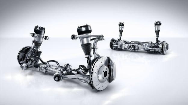 zawieszenie pneumatyczne /Mercedes
