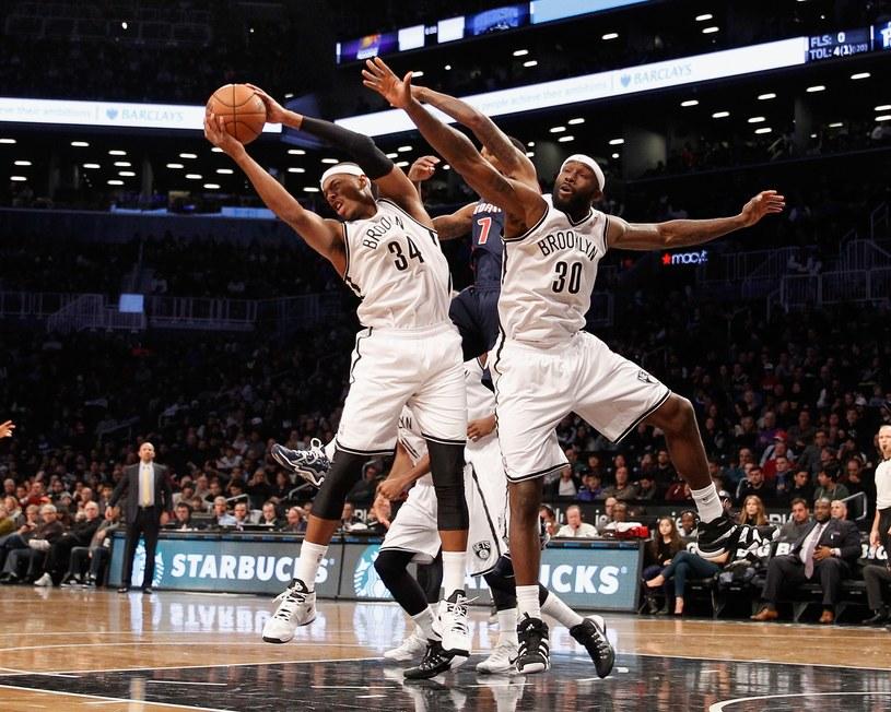 Zawodnicy Brooklyn Nets w akcji /AFP