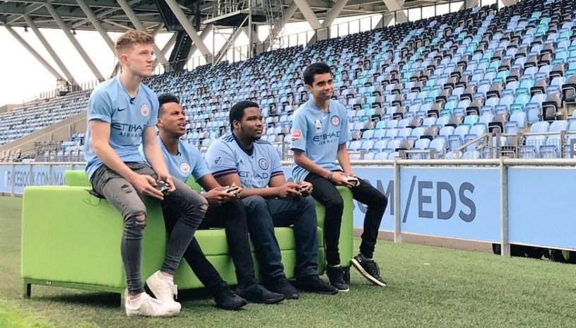 Zawodnicy e-sportowi Manchesteru City nie mogą być pewni swojej przyszłości. /Manchester City /materiały promocyjne