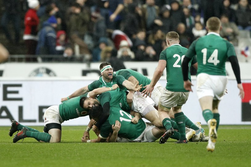 Zawodnicy Irlandii /AFP