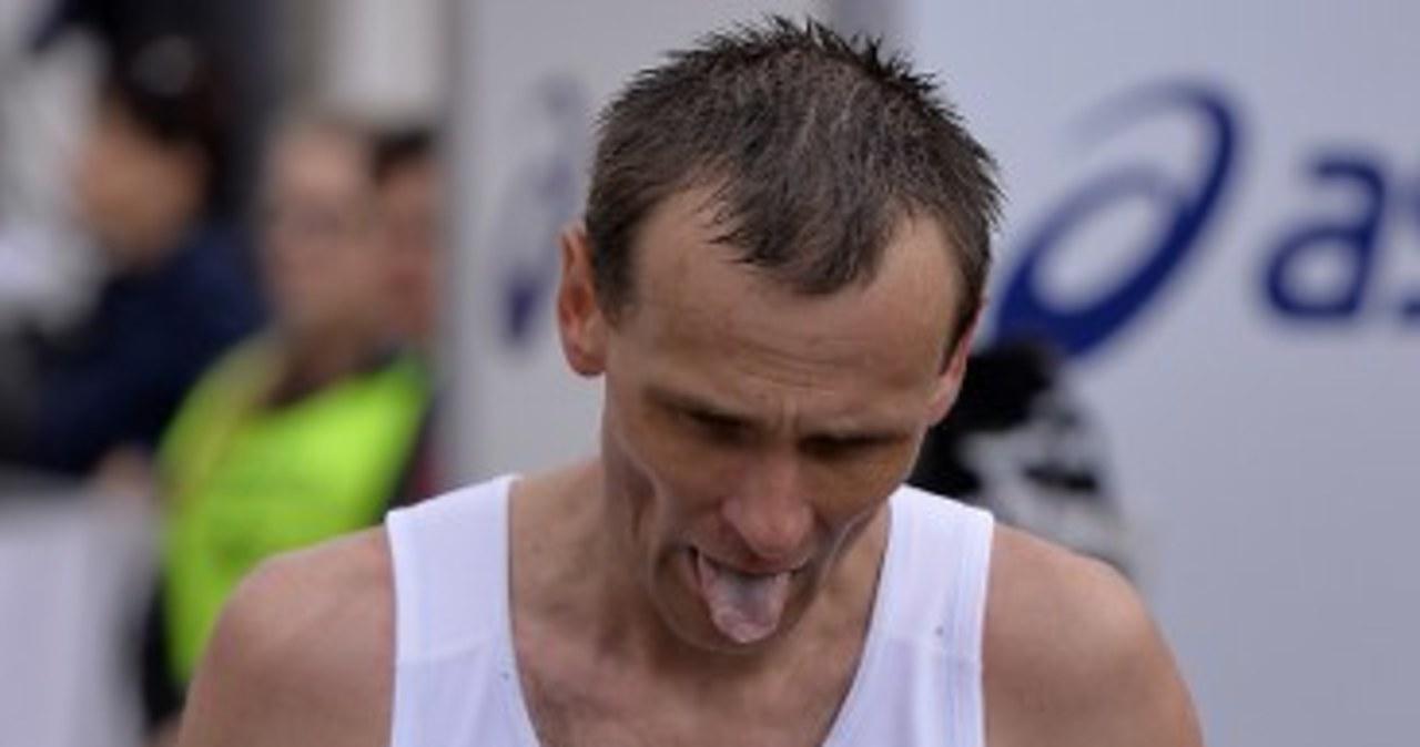 Zawodnicy na trasie Cracovia Maratonu