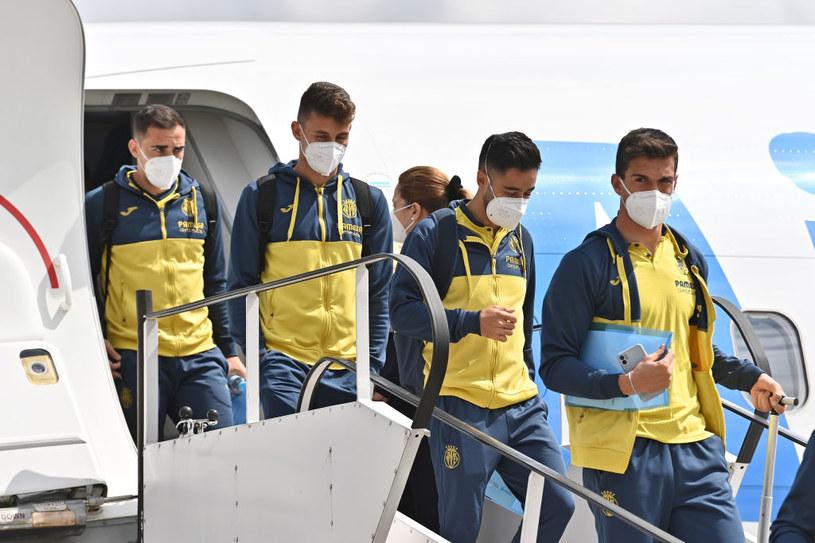 Zawodnicy Villareal wylądowali w Gdańsku. /Tullio Puglia /Getty Images