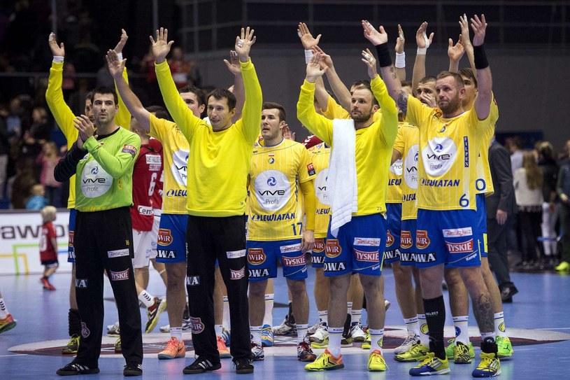 Zawodnicy Vive Tauronu Kielce /AFP