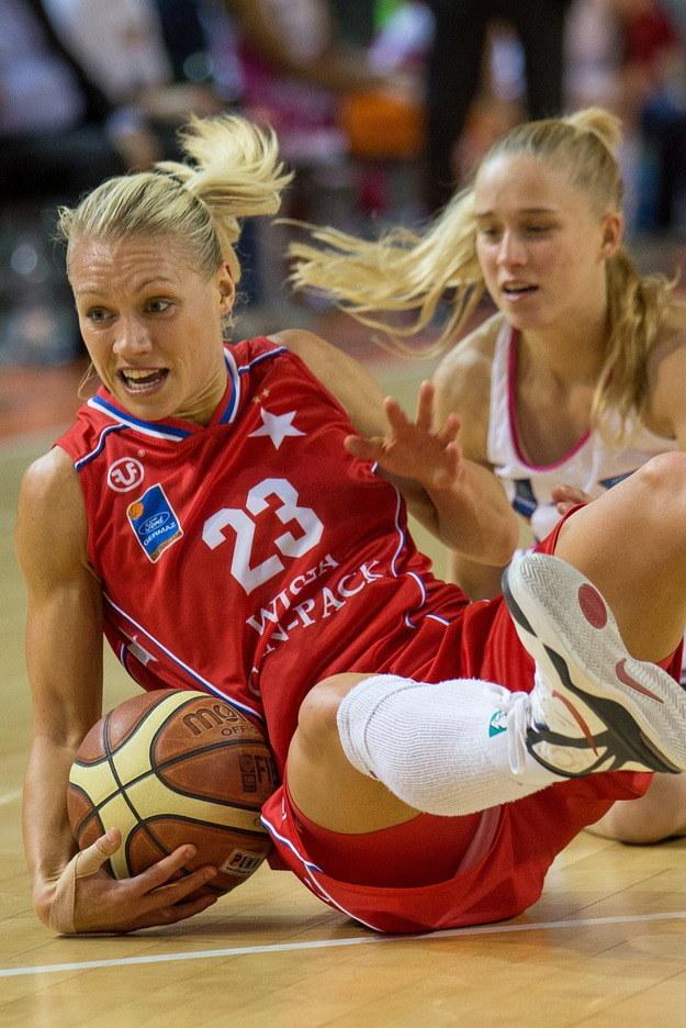 Zawodniczka Wisły Can-Pack Kraków Erin Phillips /PAP