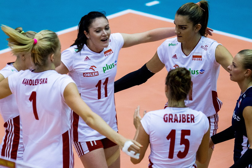 Zawodniczki reprezentacji Polski (od lewej): Agnieszka Kąkolewska, Tamara Kaliszuk, Malwina Smarzek i Martyna Grajber /Andrzej Grygiel /PAP